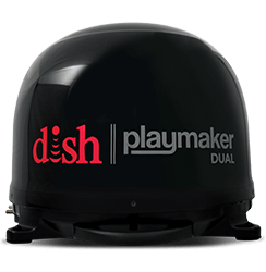 DISH Playmaker Dual - Outdoor TV - Muleshoe, Texas - Ace Satellite - DISH Authorized Retailer